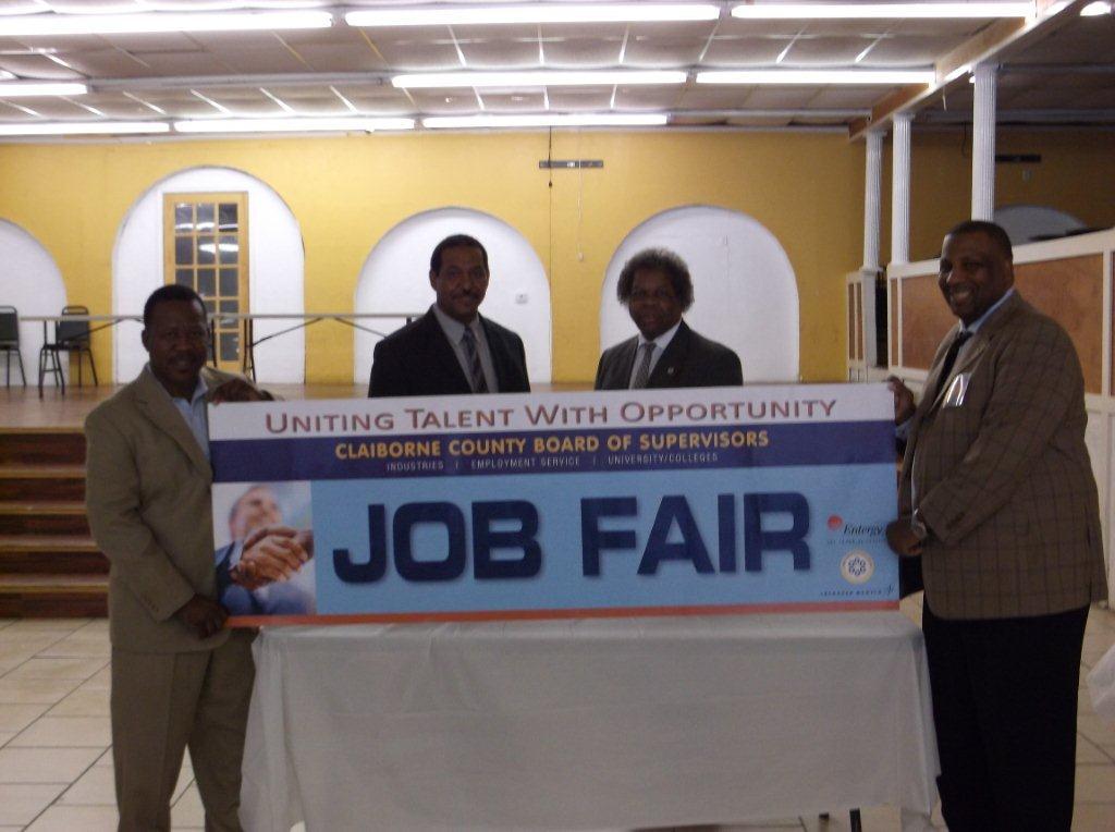 Claiborne County Job Fair 2013, Port Gibson, MS