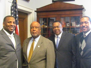 Claiborne County Board of Supervisors and the CCEDD Director travel to Washington, D.C.